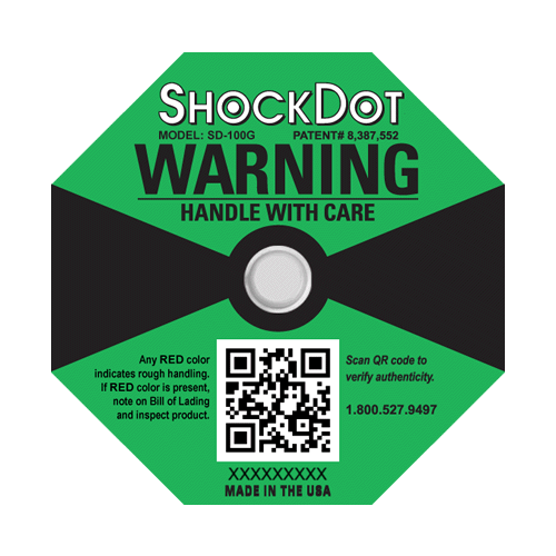 ShockDot impact indicators 100G