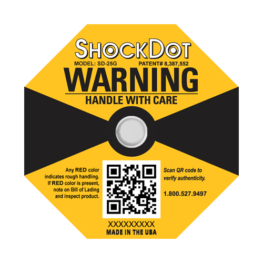 ShockDot 25G impact indicators