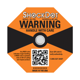ShockDot 75G impact indicators
