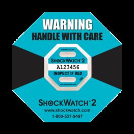 Shockwatch2 10G impact indicators