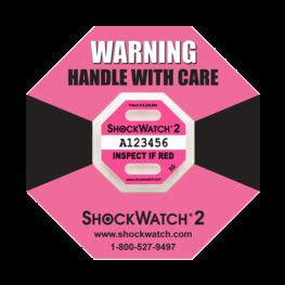 Shockwatch2 5G impact indicators