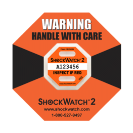 Shockwatch2 75G impact indicators