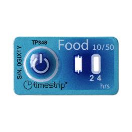 timestrip food temp indicator 10C