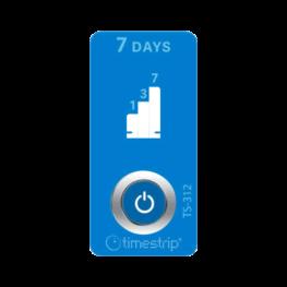 timestrip time indicator 7 day