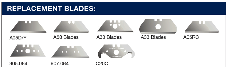 Diplomat A27 safety knife replacement blades