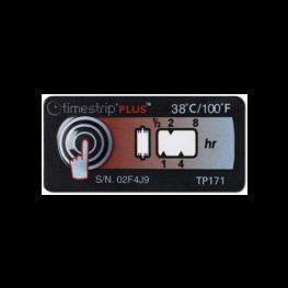 Timestrip PLUS temperature indicators TP171 38C
