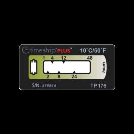 Timestrip PLUS temperature indicators TP176 10C 48HR