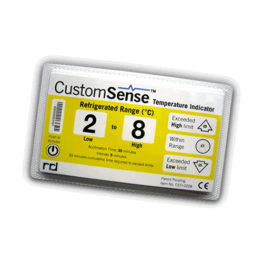 CustomSense temperature indicator REFRIGERATED