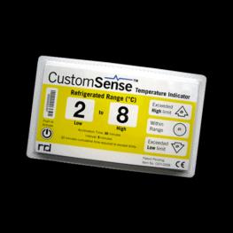 CustomSense electronic temperature indicator REFRIGERATED