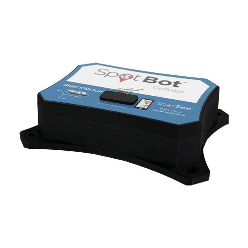SpotBot impact monitoring and tracking recorder