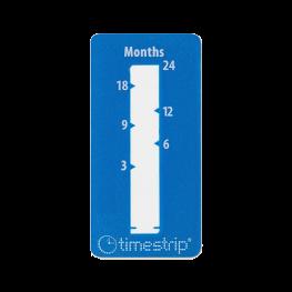 Timestrip time indicator 24 months