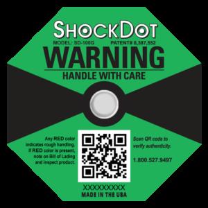 ShockDot impact indicator 100G