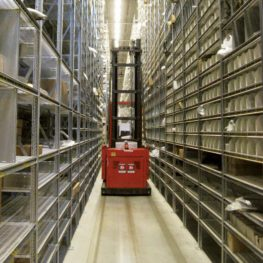 Know when forklifts are in narrow aisles with NAS