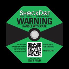 ShockDot impact indicators 100G
