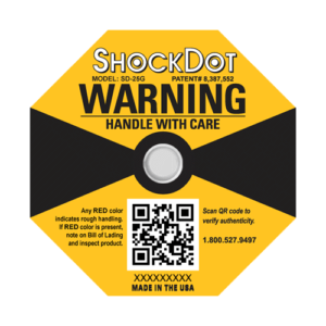 ShockDot impact indicators 25G