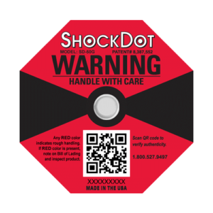 ShockDot impact indicators 50G