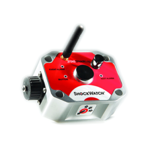 Shocklog 298 GPS impact recorder with external temperature and humdity sensor