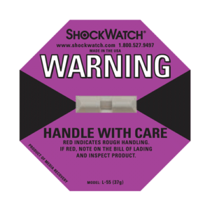 Shockwatch label L55/37g impact indicators