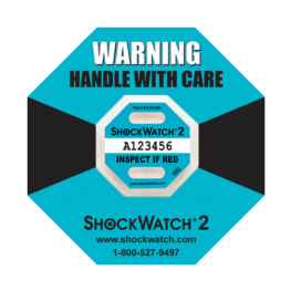 Shockwatch2 10G impact indicators