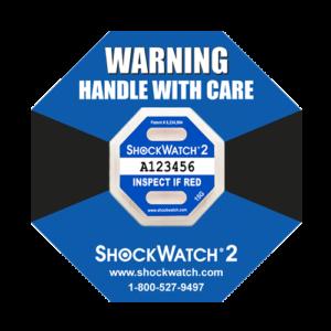 Shockwatch2 15G impact indicators