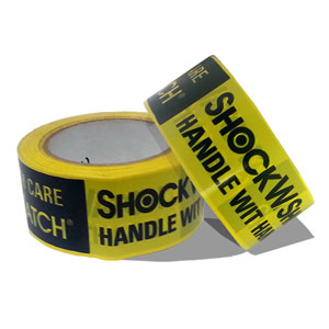 Shockwatch Alert Tape