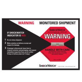 Shockwatch Labels Companion Label