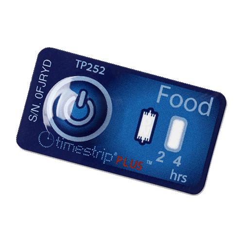 timestrip food temp indicator 5C
