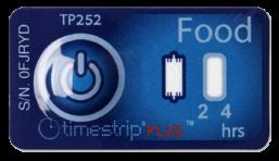 Timestrip food temperature indicator 5C