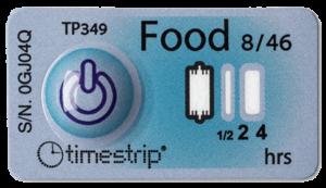 timestrip food temp indicator 8C