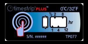Timestrip PLUS temperature indicators 0C