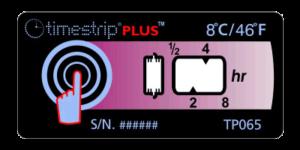 Timestrip PLUS temperature indicators TP065 8C