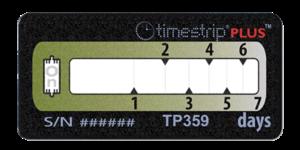 Timestrip PLUS temperature indicators TP359 10C 7DAY