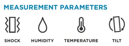 SpotBot BLE measurement parameters