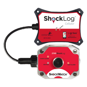 Shocklog Cellular impact and tracking recorder