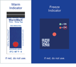 Cold Chain Complete temperature indicator