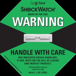 ShockWatch Label L-30 100G