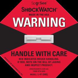 ShockWatch Label L-47 50G