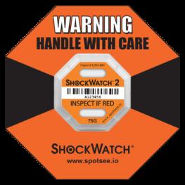 ShockWatch2 75g impact indicator