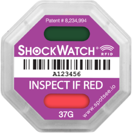 ShockWatch RFID 37G Activated