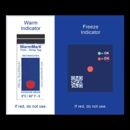 ColdChain Complete temperature indicator