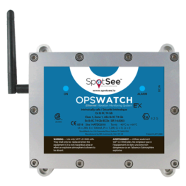 OpsWatch EX impact and vibration recorder