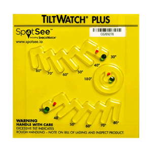 TiltWatch Plus tilt indicator