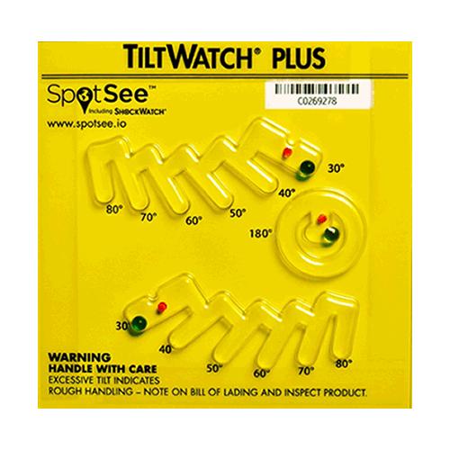 TiltWatch Plus tilt indicator