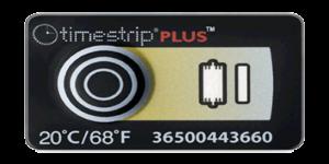 TimeStrip 20C temperature indicator