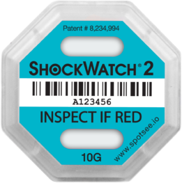 ShockWatch 2 - 10g-impact-indicator