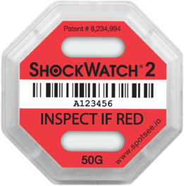 ShockWatch 2 - 50g-impact-indicator