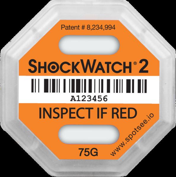 ShockWatch 2 - 75g-impact-indicator