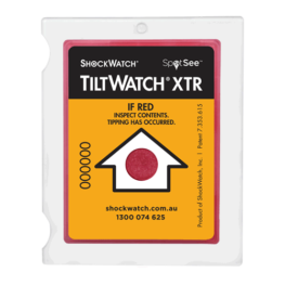 TiltWatch XTR Activated
