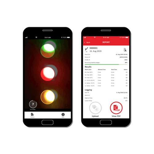 eTimestrip TIR Mobile App